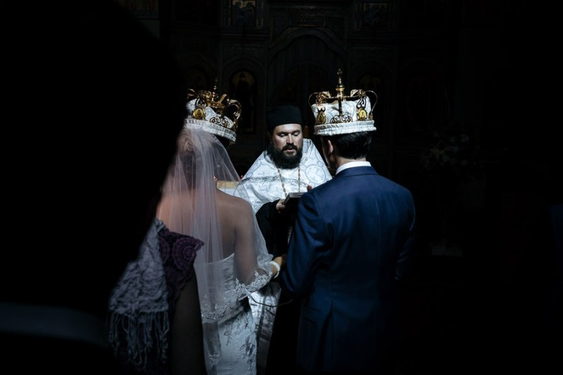 Wedding Photographer Sanremo Orthodox Church