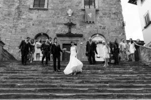 Cortona Town Hall Wedding Photographer