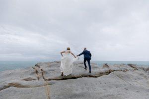 Rainy Wedding in Liguria Lisa and Daniel