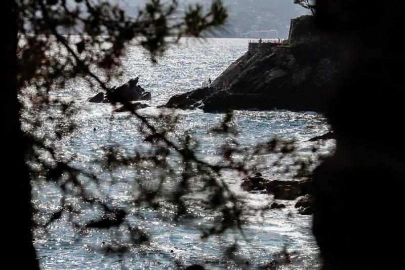 Zoagli cliffs