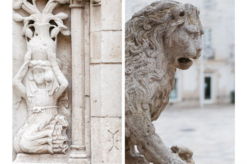 altamura cathedral lion