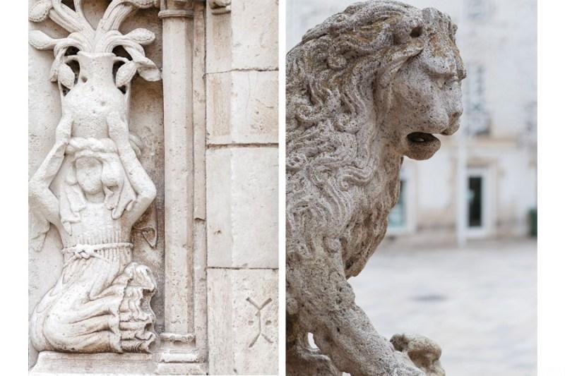 altamura cathedral lion