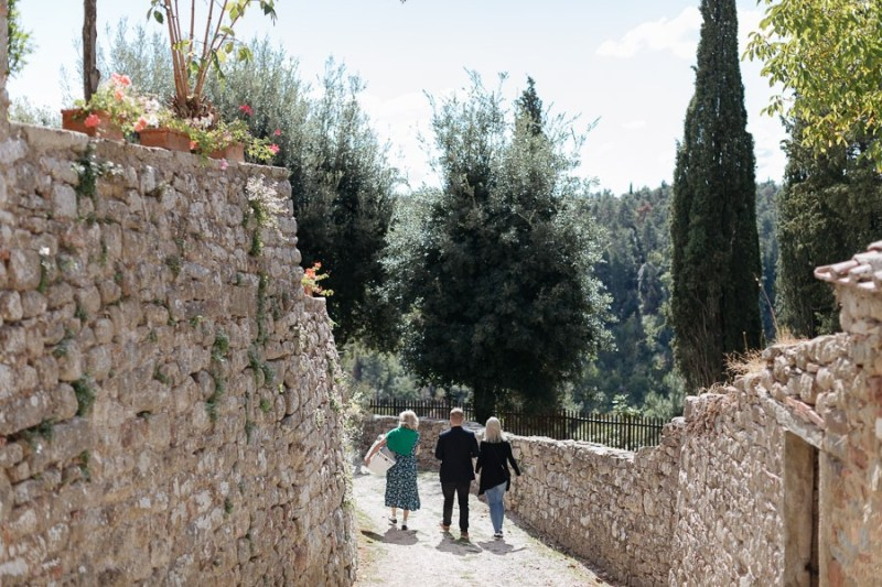 Fotografo di Matrimonio Toscana ricevimento Castello di Gargonza Monte San Savino