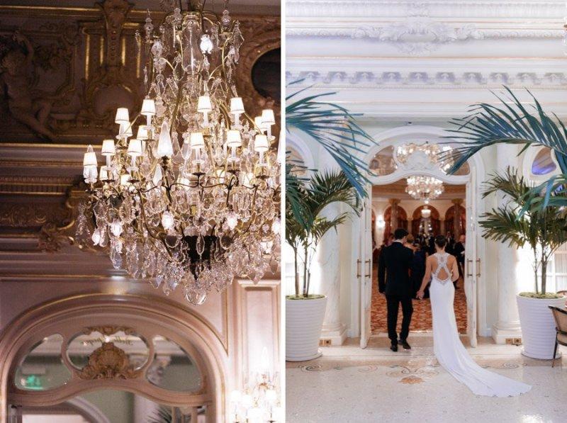 Hotel Hermitage Wedding Dinner