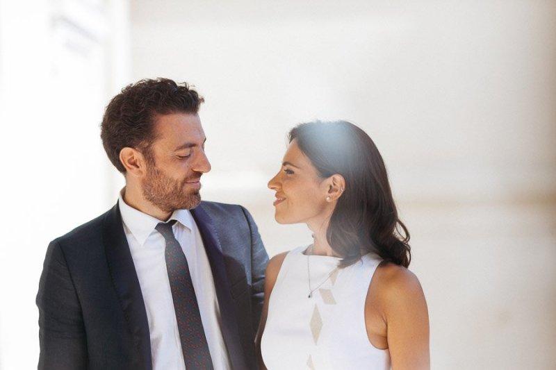 Bride and Groom Mairie Monaco