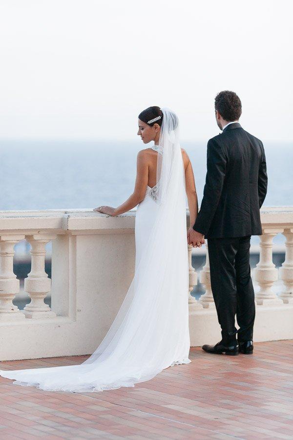 Bride Monaco Wedding
