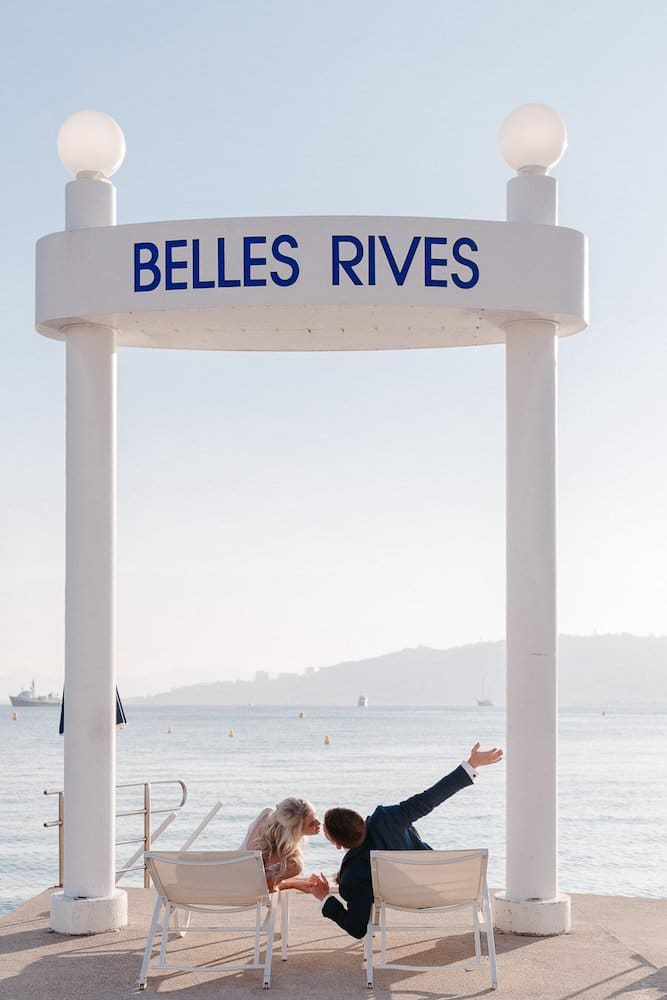 Just Married Belles Rives
