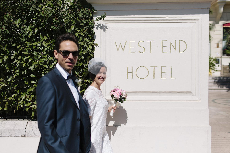 Hotel West End Nice Wedding