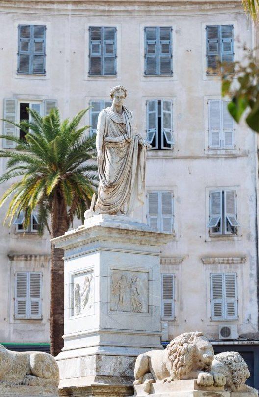 Statua di Napoleone ad Ajaccio