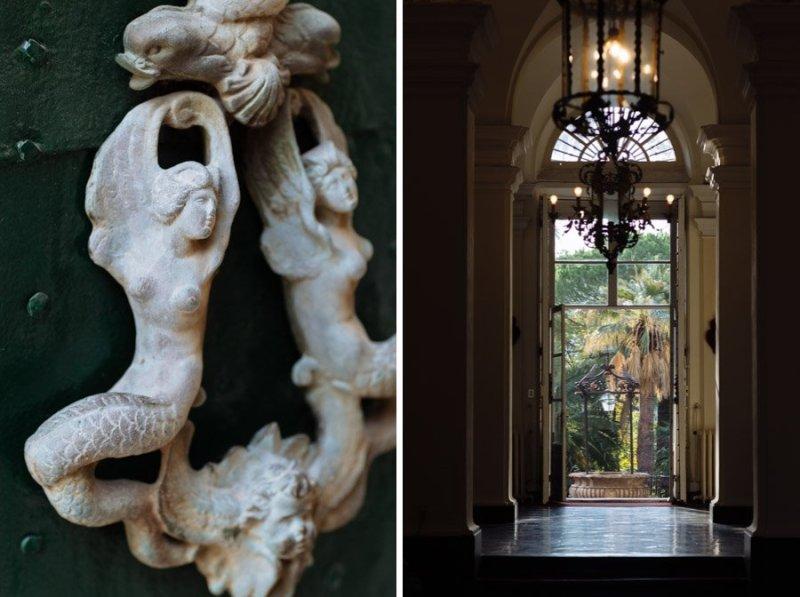 Villa Durazzo doors details