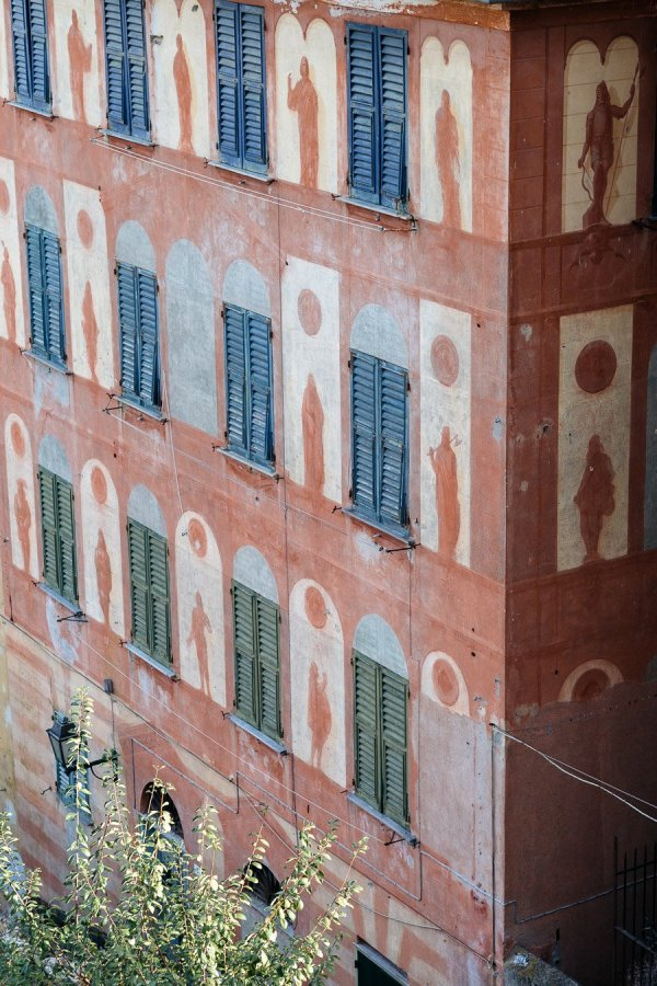 Ligurian buildings Luca Vieri Photographer