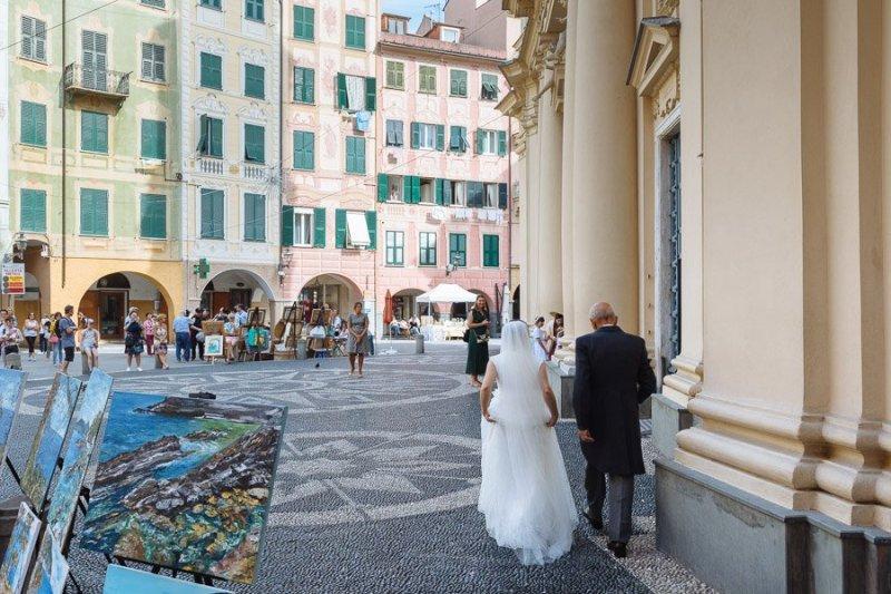 Bride Wedding Day in Santa Margherita Ligure