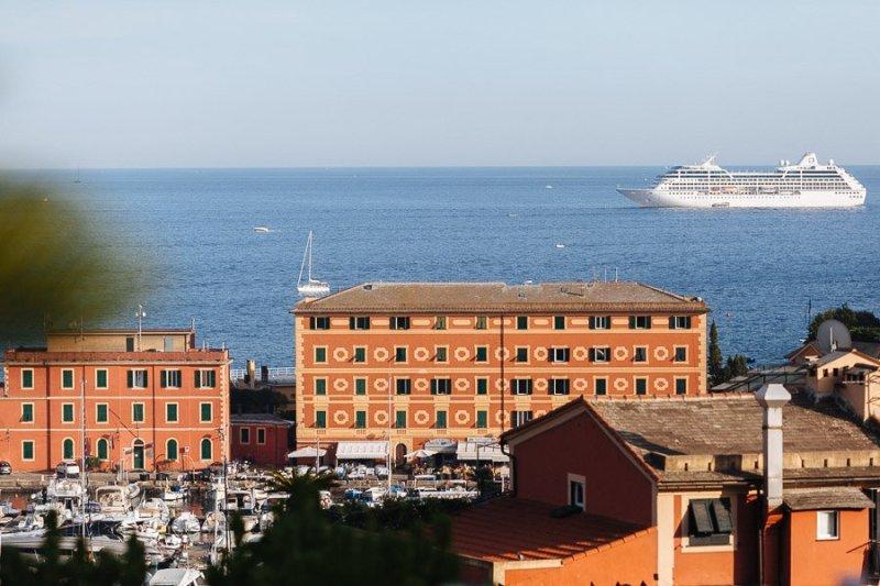 Sea View from Villa Durazzo