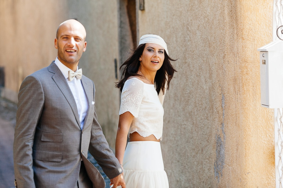 Abito Crop-Top Sposa Matrimonio
