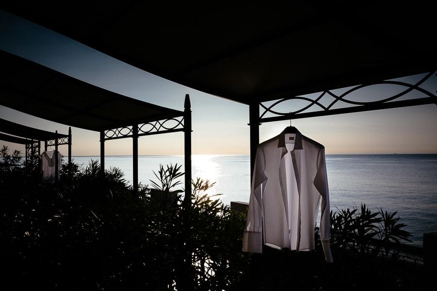 Matrimonio in Liguria preparativi sul mare di Borgio