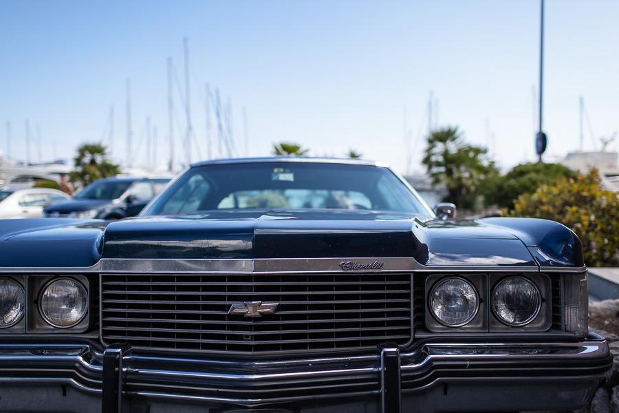 Chevrolet Impala blu