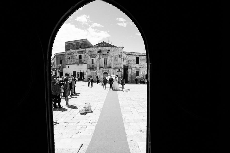Matrimonio nella Chiesa di San Giovanni Battista, Matera