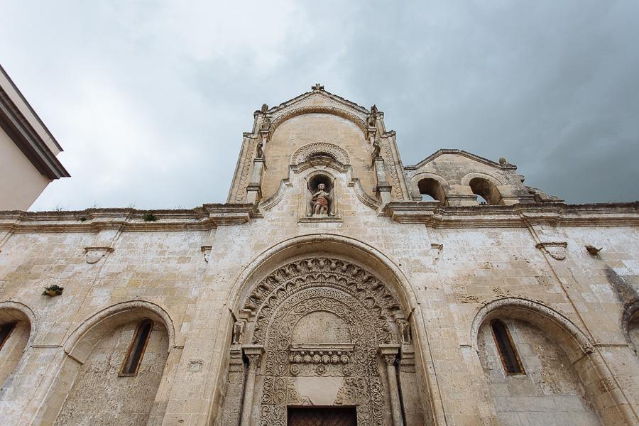 Temporale Matrimonio Matera Facciata Chiesa di San Giovanni Battista