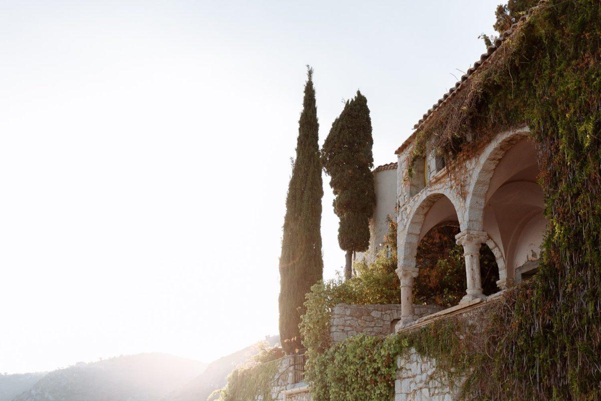 Chateau de La Chèvre d'Or Wedding Photographer Luca Vieri