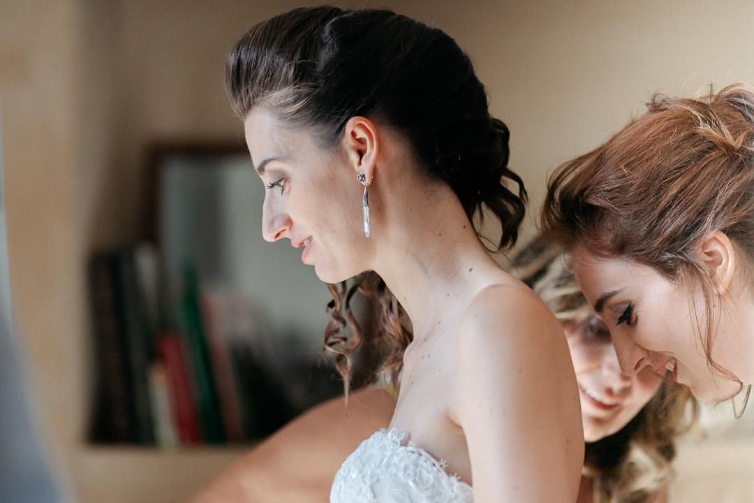 Preparativi a casa della sposa  nel Monferrato Luca Vieri