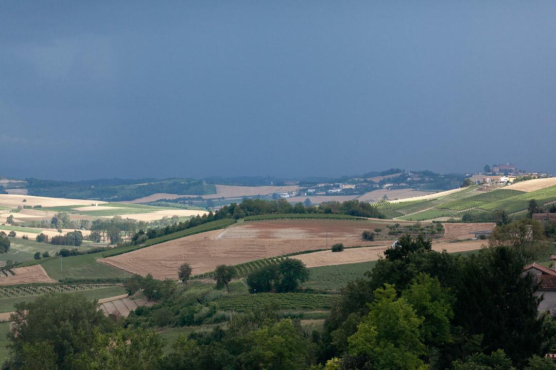 Temporale Monferrato Luca Vieri fotografo