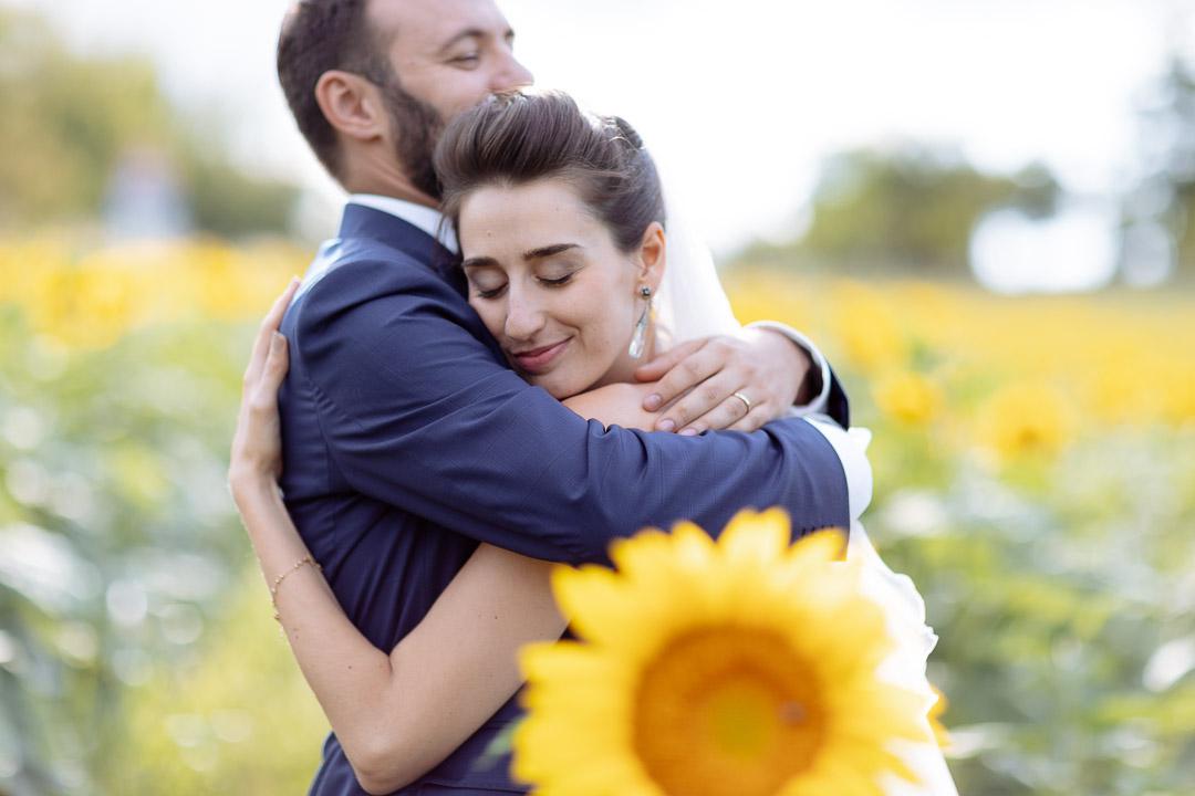 Sposi Girasoli Piemonte Luca Vieri fotografo
